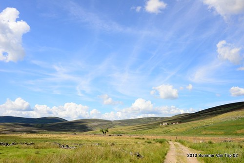 Walking up to Easter Sleach - Glen Gairn