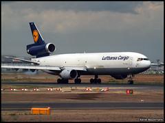 Lufthansa Cargo MD-11F D-ALCF (Xavier Bayod Farr) Tags: geotagged am airport frankfurt main olympus cargo xavier flughafen douglas 70300mm takeoff aeroport aeropuerto lufthansa zuiko spotting fra freighter md11 mcdonnell despegue md11f eddf xbf bayod lufthansacargo farr dalcf e620 xavierbayod xavierbayodfarr