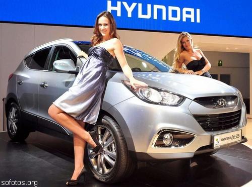 Hyundai ix35 no salão