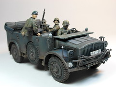 70s Memories Project  Tamiya  1/35 German Horch 4X4 Type 1a  1 (My Toy Museum) Tags: project plastic german memory 70s kit 135 tamiya horch