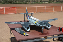 Central Arizona Modelers (twm1340) Tags: arizona scale club airplane flying model cam central sedona august az ama messerschmitt verdevalley modelers me262 2013