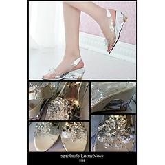 รองเท้าแก้วพร้อมส่ง ไซส์38ราคา1100บาท แฟชั่นเกาหลี นำเข้าสวยมาก ถ่ายสินค้าจริงไม่แต่งรูป ร้านโลตัสโนสส สนใจโทรสั่งที่083-1797221 www.lotusnoss.com, line ID:lotusnoss #crystal shoes #รองเท้าแก้ว