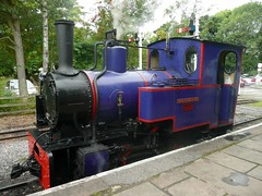 0-4-0 tank engine HELEN KATHRYN (Terry Wha) Tags: railway loco steam narrowgauge alston uksteam southtynedalerailway