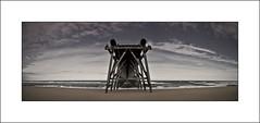 Steetley Panorama I (Jeff Teasdale) Tags: uk sea england sky colour clouds coast codurham