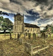 churchtard (bonser54) Tags: churchyard hdr letwell