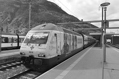 visp stazione #27 (train_spotting) Tags: ic intercity valais humanite visp sbbcffffs mendrisotto re4600417
