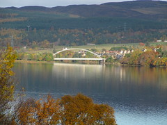 Bonar Bridge on a lovely autumn morning in October 2013.