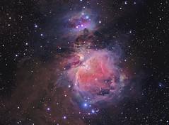 M42 LRGB+Ha (Chuck Manges) Tags: astrophotography orion m42 astronomy ha ccd m43 lrgb qhy Astrometrydotnet:status=solved at65edq qhy9m Astrometrydotnet:id=nova141479