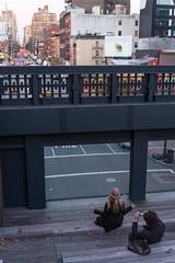High Line Meditation (CasualCapture) Tags: street nyc newyorkcity people yoga evening sitting uptown meditation highline 10thavenue 10thavenuesquare