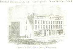Image taken from page 300 of 'A history of Jefferson County in the State of New York from the earliest period to the present time' (The British Library) Tags: bldigital date1854 pubplacealbanyus publicdomain sysnum001742293 houghfranklinbenjamin small vol0 page300 mechanicalcurator imagesfrombook001742293 imagesfromvolume0017422930 crownershotel courtstreet watertown