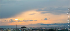 panorama@napoli.gulf.it (Rinaldofr) Tags: sunset sea panorama clouds gulf napoli helios44m5 canon6d vintangelens