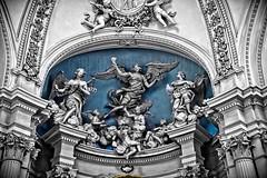 roma mon amour CXVII - art pop (Bernardo Marchetti) Tags: rome roma art san basilica statues pop angels sculptures giovanni laterano chirch