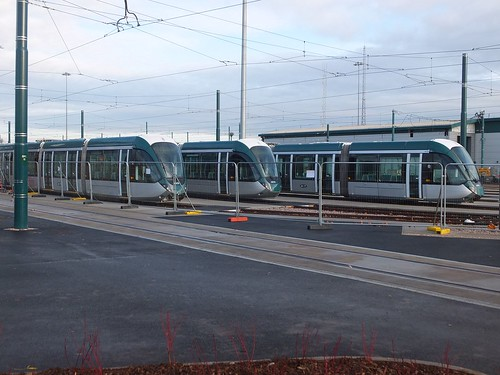 Nottingham new Citadis trams