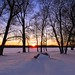 Snow-Color-Sunset