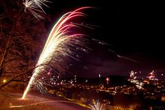 Beautiful Fountain (tobiasnawrath) Tags: night dark deutschland lights fireworks firework newyear celebration newyearseve sparks silvester happynewyear wernigerode 2014 sachsenanhalt