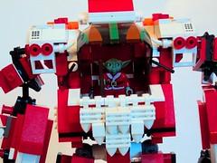 Lego Mecha-Santa Claus (Captain Pigheart) Tags: christmas lego santaclaus mech