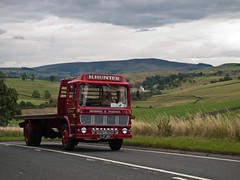 HJP 18H  1969  Leyland Super Comet   H Hunter   A59 Embsay (wheelsnwings2007/Mike) Tags: road 1969 super run h stray hunter birch trans harrogate comet pennine services leyland the a59 embsay 18h 2013 hjp