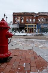 Cold ending (rg69olds) Tags: canon fire nebraska 6d canondigitalcamera plattsmouth flickritis canonef24105mmf4lisusm icecovered canoneos6d quarthouse plattsmouthfire132014