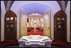 Trinity Lutheran Church (ioensis) Tags: church saint st louis entrance historic neighborhood mo altar missouri trinity font lutheran entry narthex baptismal soulard vestibule jdl ioensis langholz 52562006067tmf1b