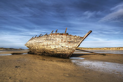 Magheraclogher Shipwreck (Gareth Wray Photography -Thanks = 2.5 Million Hits) Tags: ocean wood ireland sea vacation irish sun seascape storm abandoned beach monument water rotting pool strand landscape photography islands boat wooden sand nikon day ship different bright pov cove decay unique famous cara bad scenic landmark visit tourist an tourists na atlantic clear shipwreck mara fox wierd hd eddie unusual mast nikkor damaged stranded hdr decaying direct donegal attraction eddies falcarragh wray gweedore strabane bunbeg tonemapped tr magheraclogher derrybeg 1024mm d5200 chlochair mhachaire hdfox magerclogher
