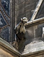 La Sainte-Chapelle, 1248 (Tiigra) Tags: 2004 france paris architdetail church city gargouille sculpture îledefrance art