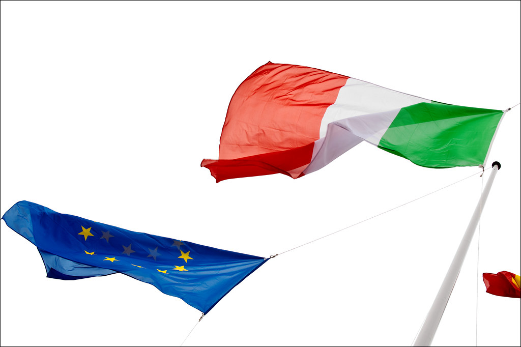 Italy and Europe are at the center focus by European Parliament, on Flickr