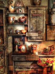 -- country store -- (xandram) Tags: store newengland retro textures pottery tonemapped
