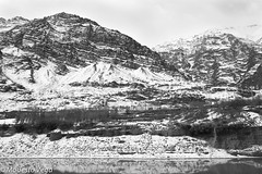 Sketched Mountains across the Upper Indus (Modesto Vega) Tags: blackandwhite india snow mountains water monochrome blackwhite nikon elements rivers himalayas ladakh waterbodies selenium indusriver jammukashmir d40 statesofwater