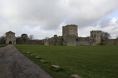 Portchester Castle,a former Roman fort (fillbee) Tags: storm day roman fort gates pirates hampshire tourist medieval prison bailey diocletian former outer portchestercastle attraction saxon fareham gatehouse englishheritage scheduledancientmonument bastions normanchurch baronial southwickestate classisbritannica marcusaureliuscarausius pwwinter williampontdelarche thistlethwaitefamily parliamentariandragoons