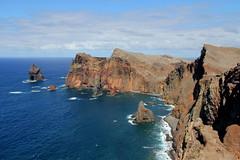 Ponta de So Loureno, Madeira (twiga_swala) Tags: ocean portugal point scenery san cliffs atlantic lorenzo punta ponta peninsula sao volcanic portuguese madeira so rocas rocinha stacks falsia loureno farallones acantilados lourenco penhascos