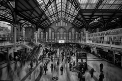 No Delays (Jarrad.) Tags: longexposure london nikon architectural nd liverpoolstreetstation d700