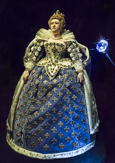 Multimedia sculpture of Queen Marie de Medici ...