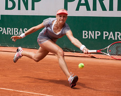 Ekaterina Makarova, Paris 2015 (mraposio) Tags: paris canon eos tennis l mk2 5d usm ef f4 wta rolandgarros mkii 70200mm 2015 vesnina makarova