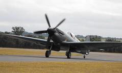 Supermarine Spitfire - PS 853 @ Duxford 2015 (Andy Reeve-Smith) Tags: rollsroyce merlin duxford spitfire cambridgeshire griffon supermarine 2015 flyinglegends