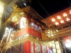 #3062 float and boarding bridge (Nemo's great uncle) Tags: summer festival kyoto  float gionmatsuri  naginatahoko