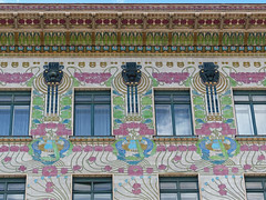 Secession - Art Nouveau - Vienna - Linke Wienzeile 40d (spiderorchid) Tags: vienna art austria artnouveau nouveau jugendstil secessionist