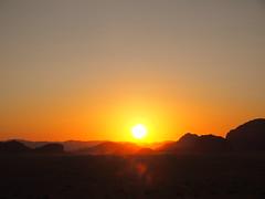Sunset, Wadi Rum!
