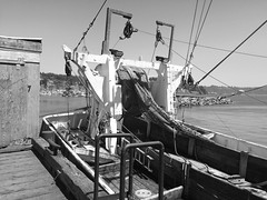 Gillnet and Harbor (TMimages PDX) Tags: sea usa water geotagged boats photography coast harbor boat photo ship image ships explore photograph oregoncoast fineartphotography newportoregon gillnet flickrexplore explored iphoneography
