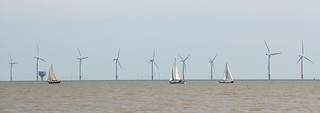 Sailing By Gunfleet Sands Offshore Wind Farm! [Explored!]