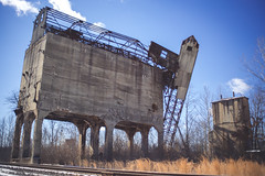 Trojan Horse (IAmTheSoundman) Tags: jakebarshick abandoned urban exploring urbex railroad train loader hopper tower