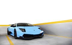 Baby Blue. (Alex Penfold) Tags: lamborghini murcielago sv supercars supercar lp 670 lambo murci super car cars autos alex penfold 2017 qatar middle east