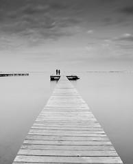 Eternidad (Photandr) Tags: pasarela mar marino paisaje seascape landscape murcia serenidad longexposure