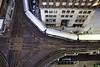 Errant stop sign (aerojad) Tags: chicago winter theloop cta thel train trains traintrack traintracks transit