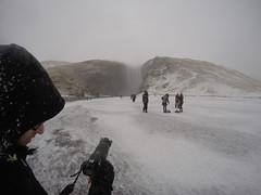 Skogafoss sous la neige (Guillaume67000) Tags: islande iceland cascade waterfall photographe skógafoss neige