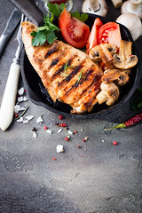 Marinated grilled healthy chicken breasts (lyule4ik) Tags: food chicken grill breast healthy dinner bbq summer kitchen meat marinate cooking cooked poultry barbecue roast herb delicious lean marinade fresh skinless cuisine seasoning served up rustic close juice tomato conceptual gastronomy eat basted board modern culinary flavoring editorial view rub white rural stone prepared fat barbecued basting breasts