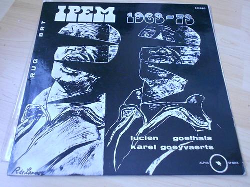 Karel Goeyvaerts / Lucien Goethals – IPEM 1963-73 (Alpha)