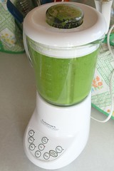 green smoothie in the blender (Stacy Spensley) Tags: green recipe avocado healthy smoothie kale spinach