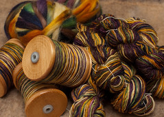 Timber Throw (davidscf) Tags: wool timber yarn spinning fiber handspun fibre handspinning helloyarn