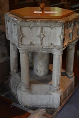 Font - St Mildred's Church, Tenterden, Kent. (greentool2002) Tags: church st kent interior font mildred tenterden