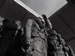 Bomber Command Memorial (A.Nilssen Photography) Tags: park greatbritain travel england bw white black green london monument memorial wwii ww2 bomber command worldwar2 2013